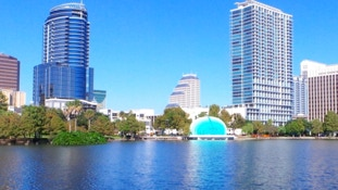 Downtown Orlando is an easy drive from your InnHouse vacation home in Orlando.